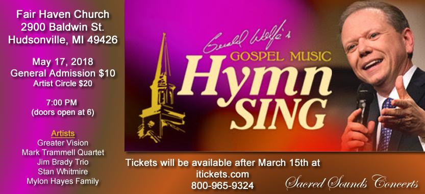 Gerald Wolfe Hymn Sing 2018
