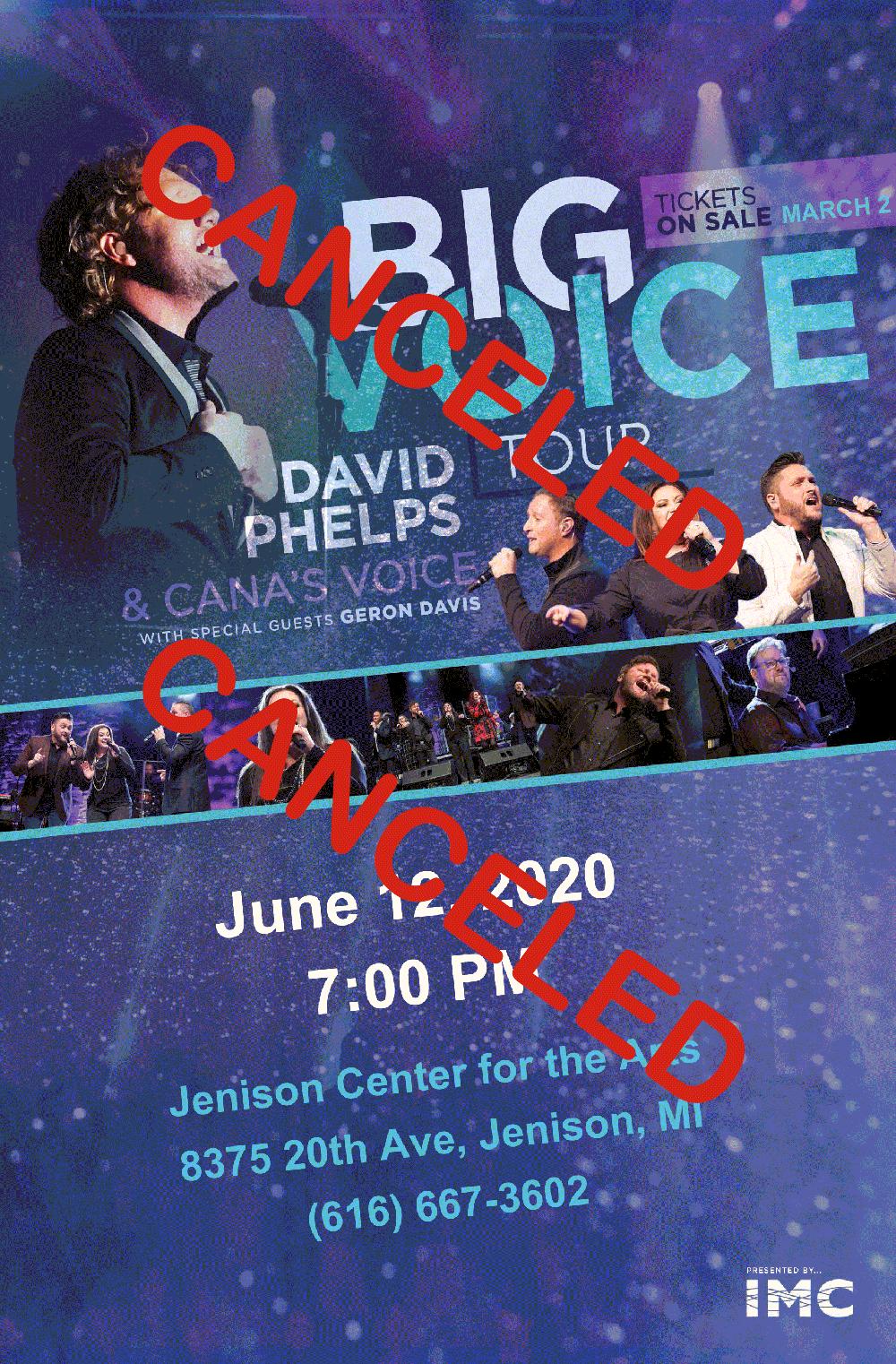 Big Voice Concert - Canceled